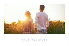 Simple Save the Date pour votre mariage ! Annoncez en vite la date pour vous assurer de la disponibilité de vos invités... #savethedate #wedding #pics