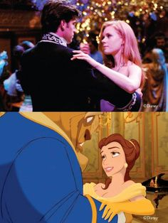 Enchanted vs Beauty and The Beast