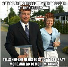Jehovah's Witness is this ELDERS complaint valid?