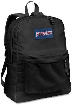 05ea0fdf1ed Jansport Superbreak Backpack - Black. Black Jansport BackpacksJansport  Superbreak Backpack25l BackpackRucksack BagBackpack BagsBlue BackpacksTrendy  ...