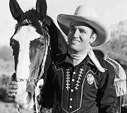Gene's horse Champion