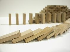 christopherh | wooden domino blocks: handmade from recycled wood