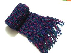 womans scarf dark colors extra long Mens Scarves by AnatoliaDreams, $35.00