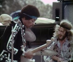 Jimi Hendrix,Mitch Mitchell,Maui,Hawaii 1970,Rainbow Bridge,30 July 1970.