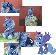 Princess Luna hand crafted My Little Pony by taffysundae, $50.00    Must have this!!!