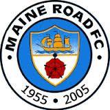 MAINE ROAD FC  - LOGO 50 ANNIVERSARY