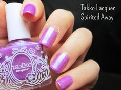 A Painted Nail: Takko Lacquer Spirited Away