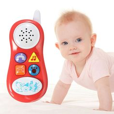 Baby Kids Learning Study Musical Sound Cell Phone Children Educational Toys Musical Instrument for Kids Baby