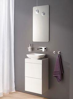 Des meubles gain de place - Concept bain