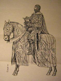 1462 - El rei Joan II. Dibuix de Fèlix Xunclà.  http://www.pedresdegirona.com/Imatges/joan_ii_1.jpg