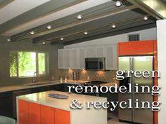Mid Century  Modern Kitchen & Bathroom Remodel Video
