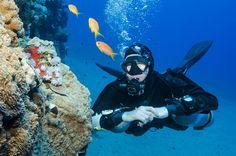 Side or back mount?  #scuba #diving