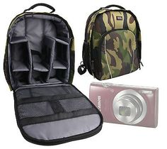 #Camouflage #backpack for #canon powershot elph 360 hs / 180 / 190 is cameras,  View more on the LINK: http://www.zeppy.io/product/gb/2/191803326441/