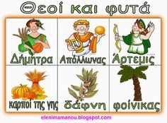 Ελένη Μαμανού: Μυθολογία Greek Language, Ancient Greece, Greek Mythology, Kindergarten, History, Blog, Modern, Preschool, Classroom