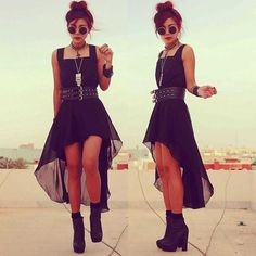 This is pretty much how I dress now. All black everything