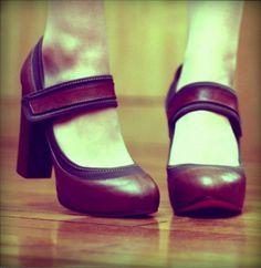 Chloe mary jane shoes