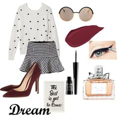 mood of the Day! #blackandwhite #Brazilwinter by cibele-cecotti on Polyvore featuring polyvore fashion style Lacoste Gianvito Rossi Marc Jacobs Lord & Berry Christian Dior Pottery Barn Dot & Bo