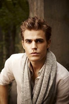 Paul Wesley Spiky Hair Cut