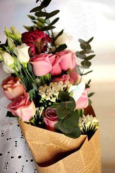 Bringing home flowers is always an incredible pleasure.