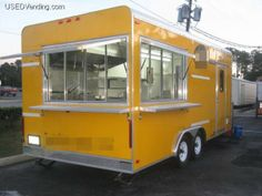 Buy or Sell Food Trucks, Concession Trailers, Vending Machines, Mobile Businesses Food Trailer For Sale, Small Trailer, Food Truck Interior, Starting A Food Truck, Food Truck Business, Container Shop, Food Truck Design, Concession Trailer, Utility Trailer