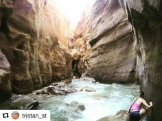 #Repost @tristan_st  Wadi Mujib 🙌🏽🌴 who would think in such a dry country 💦🇯🇴🐪 #wildjordan #explorejordan #gopro #jordan
