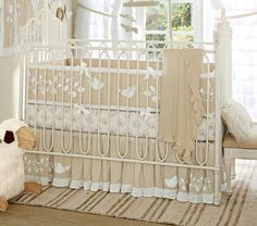 Maybe this instead..... Sadie Nursery Bedding | Pottery Barn Kids