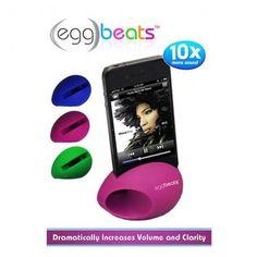 2-Pack: Egg Beats Speaker Dock for iPhone® 4 & 5