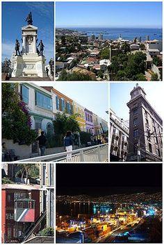 Encantos del puerto de Valparaíso