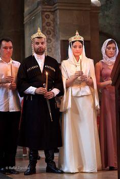 Traditional Georgian wedding in Mccheta