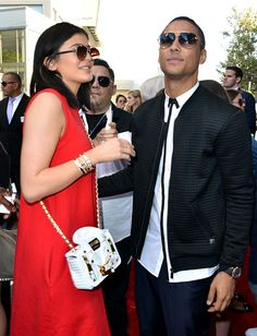June 8: Kylie and Quincy Brown at the premiere of'Dope' at the Los Angeles Film Festival.