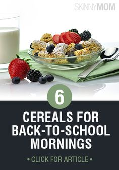 Reach for these healthy cereals for a better jumpstart on the day!