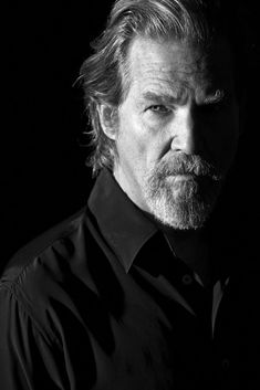 Jeff Bridges (1949) - American actor, country musician, and producer. Photo by Greg Gorman, LA, 2009