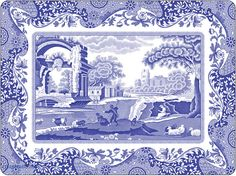 Willow Pattern fragment