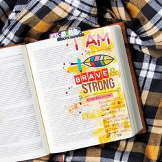 Illustrated Faith offers transformative, creative, and dynamic resources to ignite a passion for exploring God's word through bible journaling. Bible Journal, Journal Cards, Journal Ideas, Scripture Art, Bible Art, Joshua Bible, How To Make Stickers, Bible Doodling, Illustrated Faith