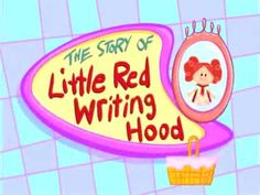 The story of Little Red Writing Hood #phonics #Gube