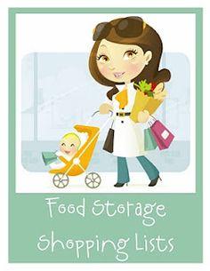 Prepared NOT Scared!: Preparedness Project - Food Storage Organizer and A St. Pregnancy Magazine, Food Storage Organization, Pantry Storage, Organizing Tips, Storage Room, Storage Ideas, Pantry List, Little Monkeys, Illustrations