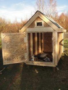 DIY Chicken Coop and PVC Feeders Tutorial