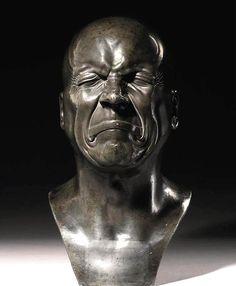 Character Head Ill Humoured Man by Franz Xaver Messerschmidt