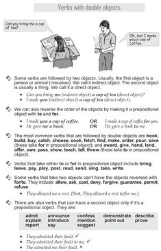 Grade 10 Grammar Lesson 16 Verbs with double objects (1)