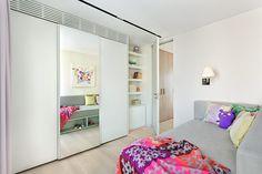 Líneas contemproáneas y clásicas conviven en las habitaciones.