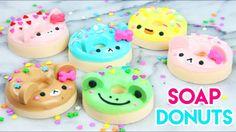 How to Make DIY Kawaii Animal Soap Donuts!