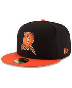 098021dd64d11 New Era Dayton Dragons Ac 59FIFTY Fitted Cap - Black Orange 6 7 8
