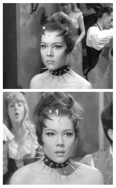 Emma Peel as The Queen of Sin, The Avengers.