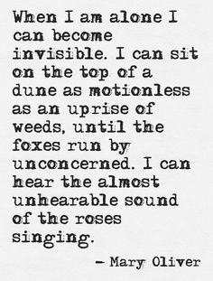 Mary Oliver -infp