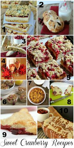 Sweet Cranberry Recipe Features