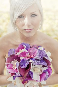 Hi to all Aussie brides - orchids and calla lillies in these shades are only available for a very limited season in Australia
