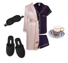 """""""sleep wear"""" by bulldoggrl on Polyvore featuring Eberjey, Agent Provocateur, L'Agent By Agent Provocateur and Soma"""