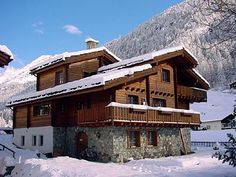 chalet huwi is an authentic swiss