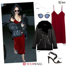 #GetTheLook A great look inspired by Rihanna with items you can get in our mall at incredible prices!
