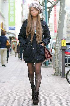 はるかさん | one*way SHAKE SHAKE ALBUM しまむら H&M | 2012年 2月 第3週 | 渋谷 | 東京ストリートスタイル | 東京のストリートファッション最新情報 | スタイルアリーナ